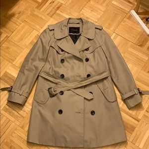 Coach classic twill trench coat